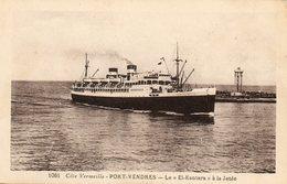 Le EL KANTARA... - Steamers