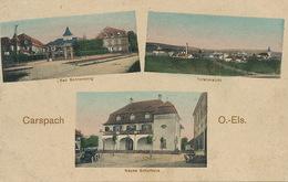 Carspach Multi Vue Couleur Bad Sonnenberg , Neues Schulhaus, Ecole, Vue Generale - France