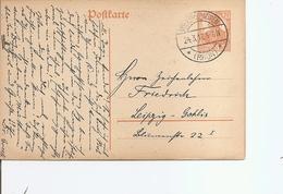 Allemagne ( EP De 1917 De Volkershausen Vers Leipzig à Voir) - Alemania