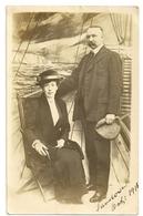 S7919 -  Sandown - Photo D'un Couple Oct. 1913 - Sandown