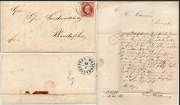 Hannover Brief Gelaufen Leer - Westrhauderfehn - Hanovre