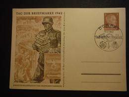 CPM Deutsches Reich 1942 - Tag Der Briefmarke - Dorpat Ostland - Historische Documenten