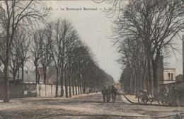 CAEN -14- Le Boulevard Bertrand - Colorisée - Animée [ Chevaux - Belle Voiture Hippomobile ] - Caen
