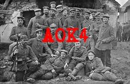 80 Somme CARTIGNY Peronne Vermandois Feldpost 1915 Pickelhaube BIR 15 - Francia
