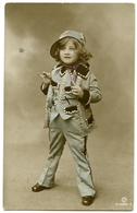 MISS GLADYS COOPER'S LITTLE DAUGHTER, JOAN : PEARLY QUEEN / ADDRESS - GLOUCESTER, DEANS WALK, SERLO ROAD - Portraits