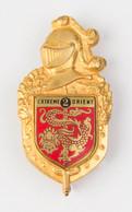 Insigne 2e LGRM Gendarmerie Indochine Drago Romainville - Police