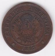 ARGENTINE / TUCUMAN. UN CENTAVO 1883. BRONZE - Argentine