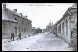FRESNOY LE GRAND  RUE DE BRANCOURT - Andere Gemeenten