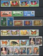 Antigua - 1967/1977 - Lot Timbres * TC - Nºs Dans Description - 2 Scans - 1858-1960 Crown Colony