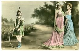 PRETTY GIRLS : GIRL WITH HOOP - REUTLINGER, PARIS / ADDRESS - TAMWORTH, VICTORIA ROAD, HEATHE STREET - Women