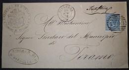 ANNULLI NUMERALI ABRUZZO: NUMERALE PIANELLA Teramo - 1861-78 Vittorio Emanuele II