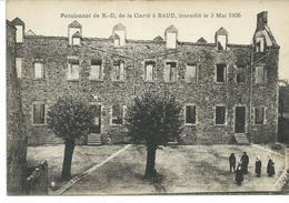 BAUD - Pensionnat De N.D. De La Clarté à Baud, Incendié Le 3 Mai 1935 - Baud