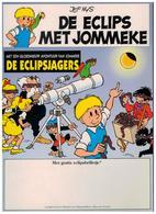 DE ECLIPS MET JOMMEKE - Jommeke