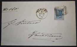 ANNULLI NUMERALI ABRUZZO: NUMERALE TERAMO - 1861-78 Vittorio Emanuele II