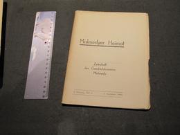 MALMEDYER HEIMAT - ZEITSCHRIFT DES GESCHTSVEREINS MALMEDY - 2.JAHRGANG 3. - 3. VIERTELJAHR 1943 - Libri, Riviste, Fumetti