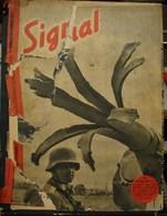MilDoc. 78.  Revue De Propagande Allemande SIGNAL 1 Er Numéro Novembre 1941. N°19.Un étrange Palmier Ce Canon..... - 1939-45