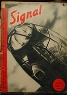 MilDoc. 81.  Revue De Propagande Allemande SIGNAL 25 Août 1940. L'oeil Du Bombardier Allemand - 1939-45