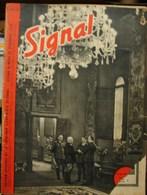MilDoc. 82.  Revue De Propagande Allemande SIGNAL 2 ème Numéro De Novembre  1940. N°16 - 1939-45