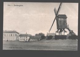 Zele - Zandbergplein - Uitg. De Geest, Zele - Moulin / Mill / Molen - Zele