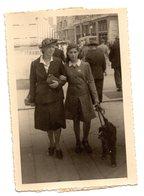 GENOVA Via XX Settembre 25 Aprile 1946 Passeggio Con Cane - Persone Identificate