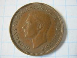 Farthing 1939 - 1902-1971 : Monete Post-Vittoriane