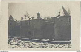 80) PERONNE : Carte-Photo Allemande - Château De La Tour (texte En Allemand Au Verso Voir Scan) (17.2.1917) - Peronne