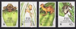 Fiji - WWF - Frogs - Fauna On Postage Stamps MNH** F113 - Ranas