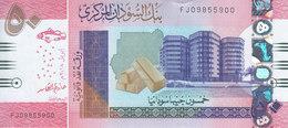SUDAN 50 POUNDS 2018 P-NEW REPLACEMENT UNC */* - Soedan