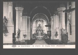 Sint Pauwels / St. Pauwels / St. Paul - St. Pauwels Kerk - Binnenzicht - Uitg. Ch. De Potter - Sint-Gillis-Waas