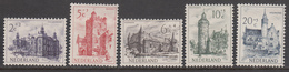 The Netherland MLH NVPH Nr 568/72 From 1950 / Catw 19.00 EUR - Periodo 1949 - 1980 (Giuliana)
