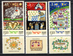 ISRAELE - 1991 - Jewish Festivals - MNH - Nuovi (con Tab)