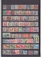 UN LOT DE 77 TIMBRES OBLITERES - Indochina (1889-1945)