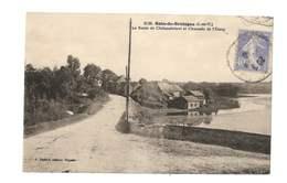 Bain De Bretagne - La Route De Chateaubriant Et Chaussée De L'étang - 216 - Altri Comuni