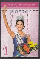 2016 Philippines Miss Universe  Souvenir Sheet  MNH - Filipinas