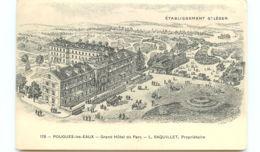 58* POUGES LES EAUX Grand Hotel Du Parc (dessin) - Pougues Les Eaux