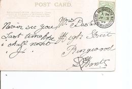 Grande-Bretagne ( CP De 1909 De Ballymaclinton Vers L'intérieur à Voir) - 1902-1951 (Rois)