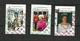 Ile De Man N°526 à 528 Cote 3.25 Euros - Isle Of Man