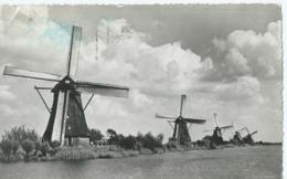Kinderdijk - Hollandse Molen - Moulin à Vent - Gebr Spanjersberg No 53 - Pays-Bas