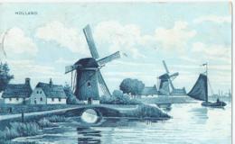Holland - Molens - 1910 - Pays-Bas