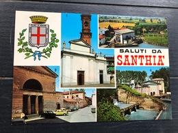 SALUTI DA SANTHIA'  1980 - Biella