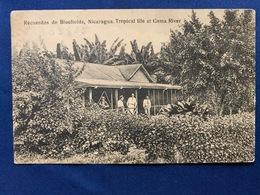 Postcard  Circulated Bluefields 1933 - Nicaragua