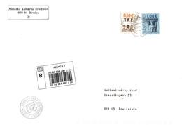 Slovakia R Cover Revuca With Jubilee Cancelation ... Ax580 - Slowakische Republik