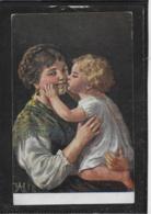 AK 0379  Mutterglück - Künstlerkarte Um 1917 - Abbildungen