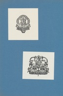 Ex Libris Jonge Boerinnenbond + M. Vollters-Mandos - Frans Mandos (1910-1977) - Ex-libris