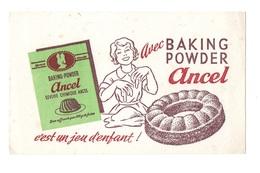 Buvard C'est Un Jeu D'enfant Avec Baking Powder Ancel - Cake & Candy