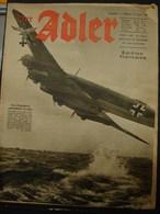 MilDoc. 85.  Der Adler N°17. Le 25 Août 194? - 1939-45