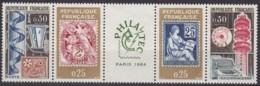 "Frankreich, 1964,  1467/70, MNH **,  Ausstellung ""Philatec"", Paris - Nuovi"