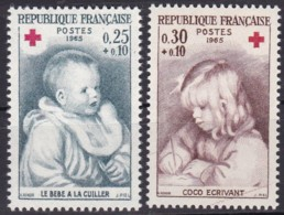 Frankreich, 1965,  1532/33,  MNH **,  Rote Kreuz - Nuovi