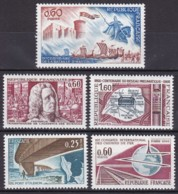 Frankreich, 1966,  1548/51+63, MNH **, Kleine Sammlung, Petite Collection - Nuovi