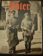 MilDoc. 88.  Der Adler N°13. Le 30 Juin 1942 - 1939-45